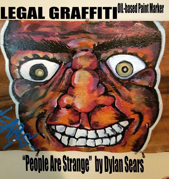People Are Strange - LegalGraffiti