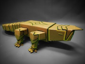 Uh... Gecko? Gator? Reptile.