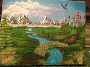 Landscape fantasy