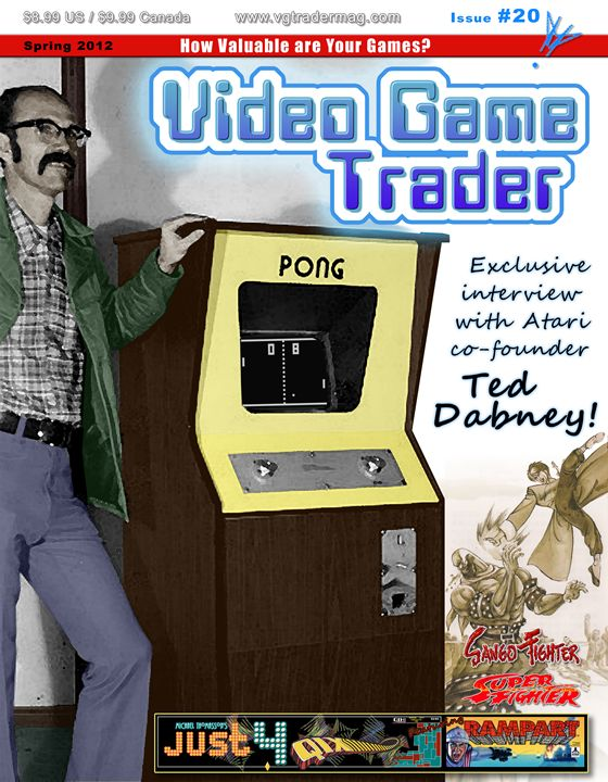 Video Game Trader #20 Cover Design - Video Game Trader Magazine