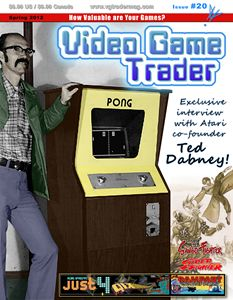 Video Game Trader #20 Cover Design