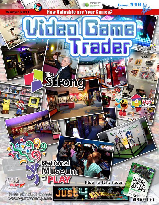 Video Game Trader #19 Cover Design - Video Game Trader Magazine