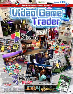 Video Game Trader #19 Cover Design
