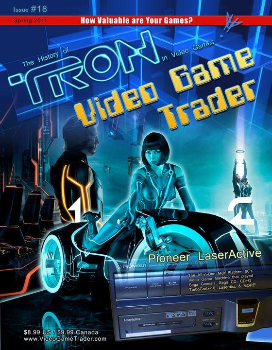 Video Game Trader #18 Cover Design - Video Game Trader Magazine