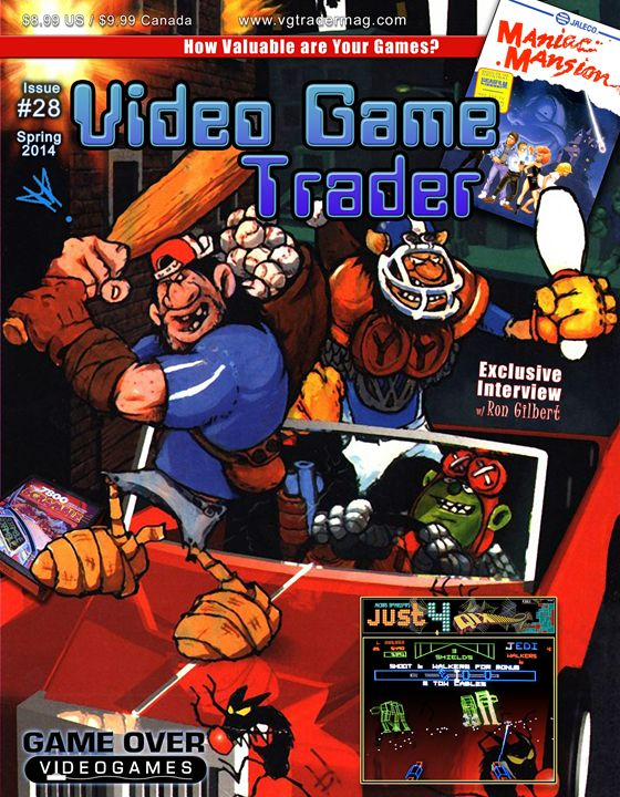 Video Game Trader #28 Cover Design - Video Game Trader Magazine