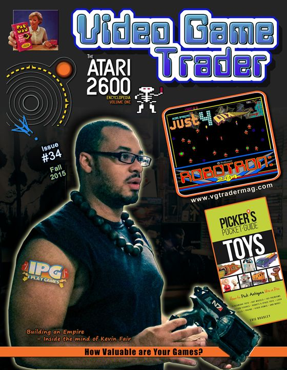 Video Game Trader #34 Cover Design - Video Game Trader Magazine