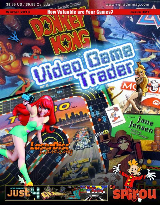 Video Game Trader #27 Cover Design - Video Game Trader Magazine