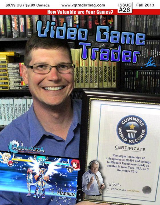 Video Game Trader #26 Cover Design - Video Game Trader Magazine
