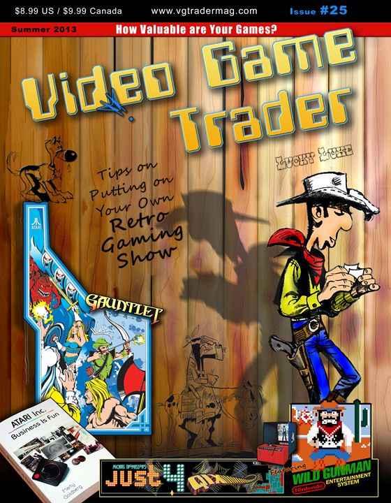 Video Game Trader #25 Cover Design - Video Game Trader Magazine