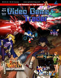 Video Game Trader #24 Cover Design
