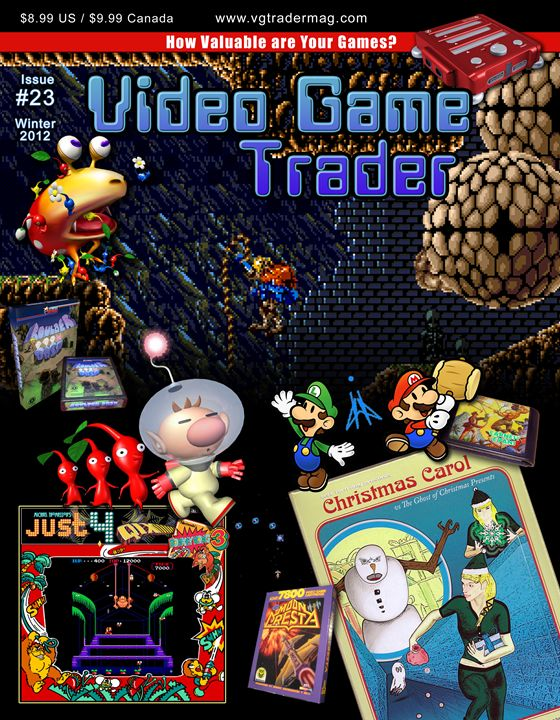 Video Game Trader 23 Cover Design Video Game Trader Magazine