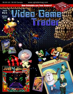 Video Game Trader #23 Cover Design