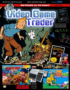 Video Game Trader #22 Cover Design