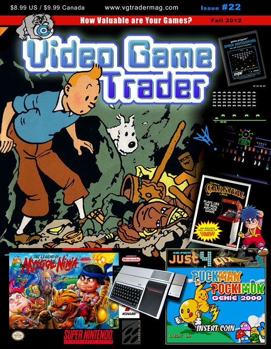 Video Game Trader #22 Cover Design - Video Game Trader Magazine