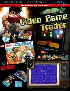 Video Game Trader #21 Cover Design