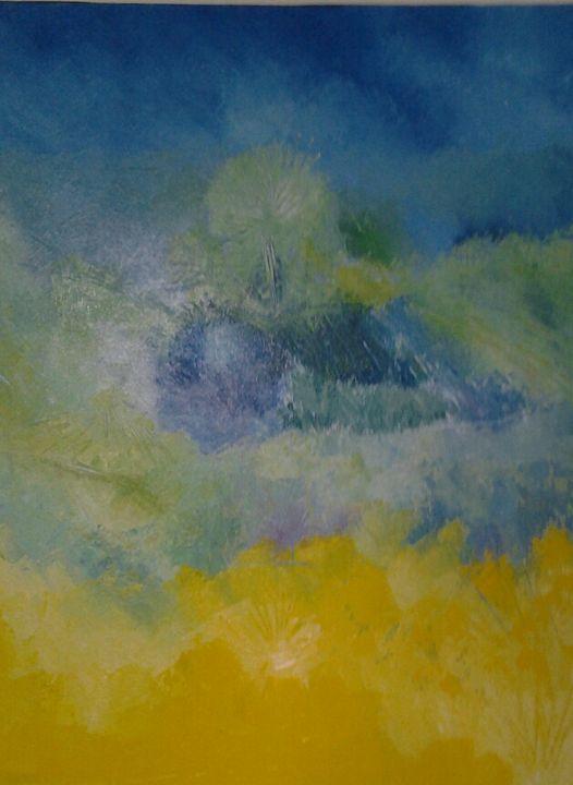 avant l'orage - atelier d'art du moulin Patrick Lemoine