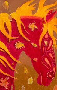 Bloemblad the Autumn Horse