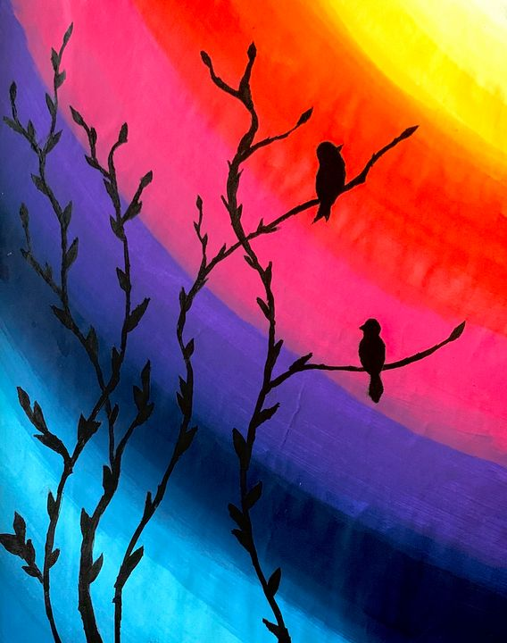 Colorful Song - Wen's Art