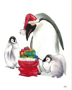 A Penguin Family Christmas