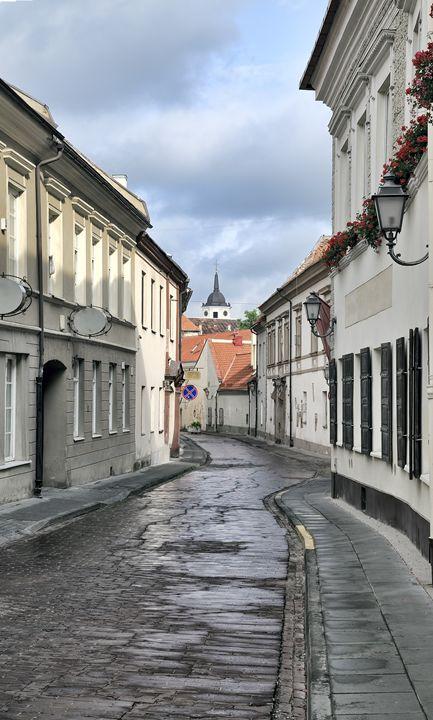 Bernardinu street in Vilnius - Sergejus Lamanosovas - Severas