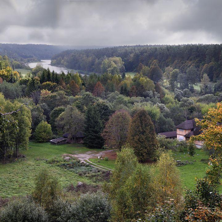 ThNeris regional park of a Lithuania - Sergejus Lamanosovas - Severas