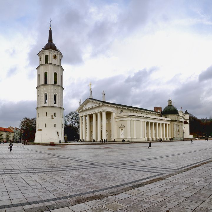 Vilnius cathedral church and belfry - Sergejus Lamanosovas - Severas