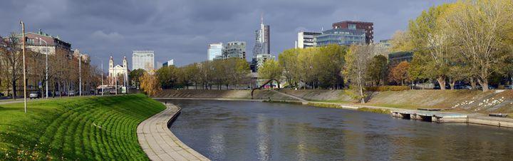 Panorama Neris river - Sergejus Lamanosovas - Severas