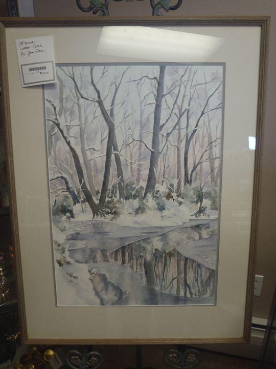 Jan Ford Original Watercolors - CHIK CHAK STATION