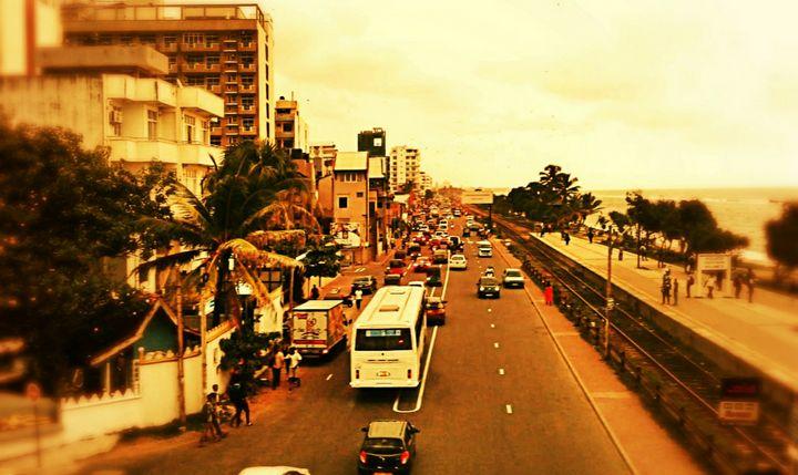 Street evening view - Shilpaya