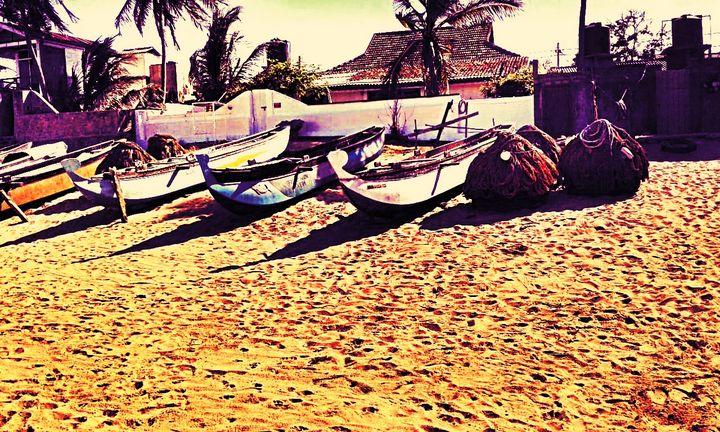 Fishing Boats - Shilpaya