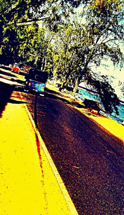 Beach road - Shilpaya