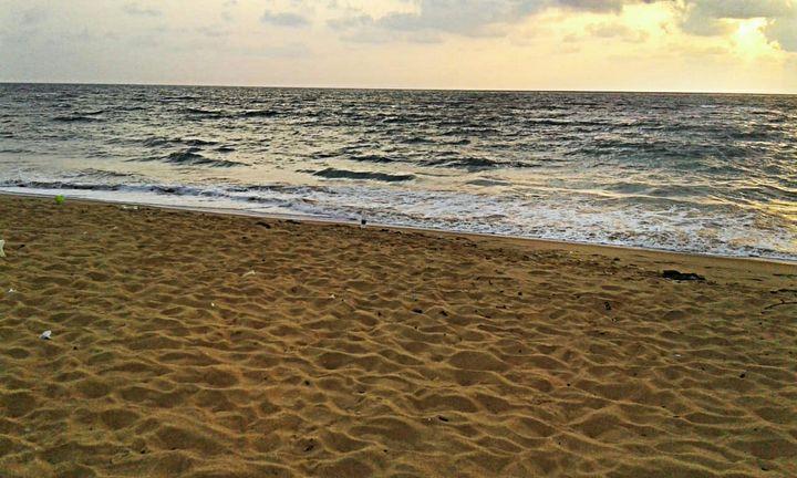 Brown beach - Shilpaya