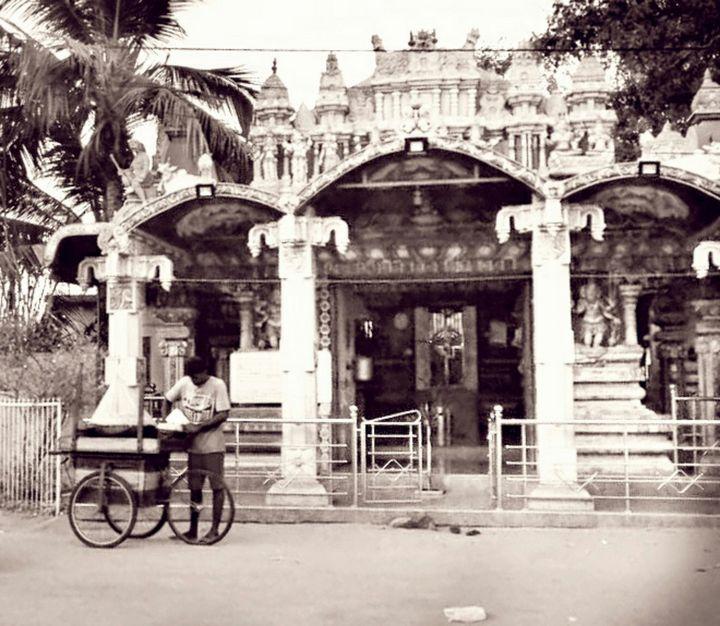 Village street - Shilpaya