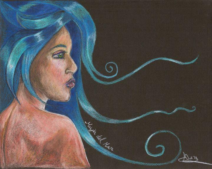 "Mujer del Mar  ""Sea Women"" - The Art of Yohan Daza"