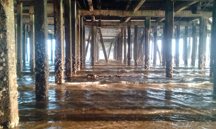 Under the pier - L.J.W Creations