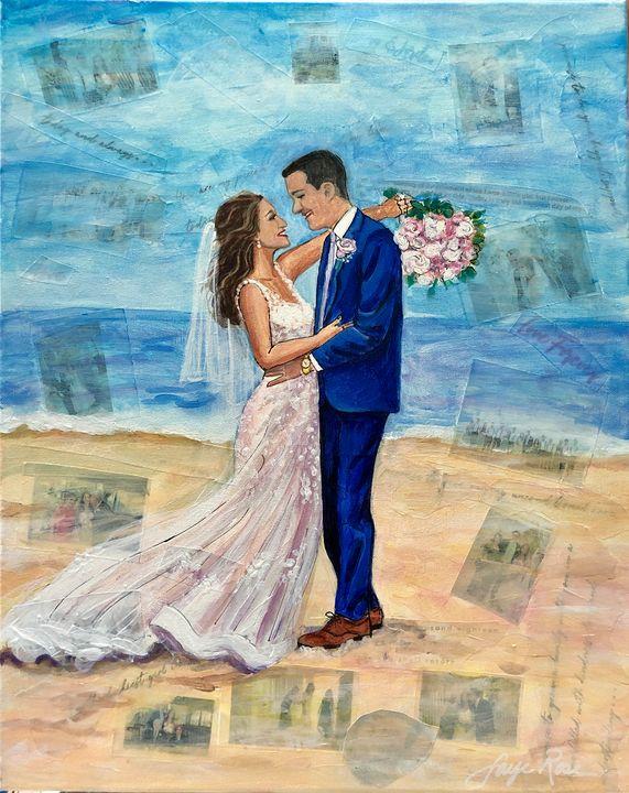 Magical Treasures Wedding Portrait - Faye Rose Art