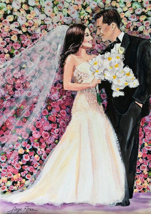 Wedding Portrait - Faye Rose Art