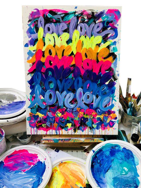 Little LOVE - Faye Rose Art
