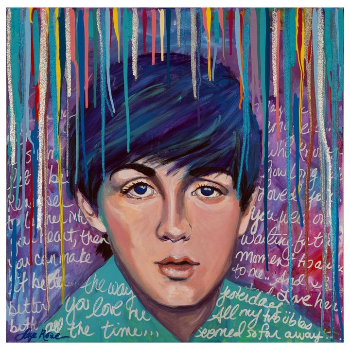 I LOVE PAUL - Faye Rose Art