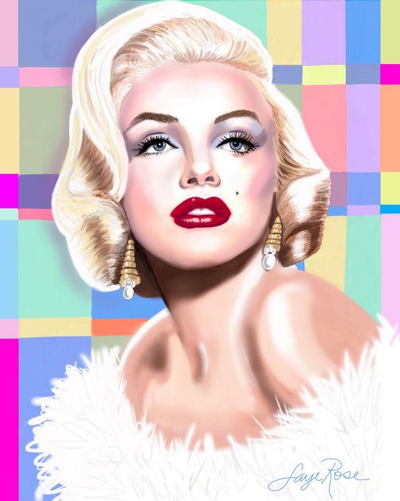 Marilyn - Faye Rose Art