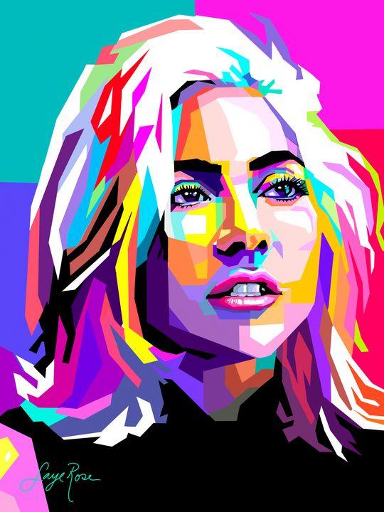 Gaga for Gaga - Faye Rose Art