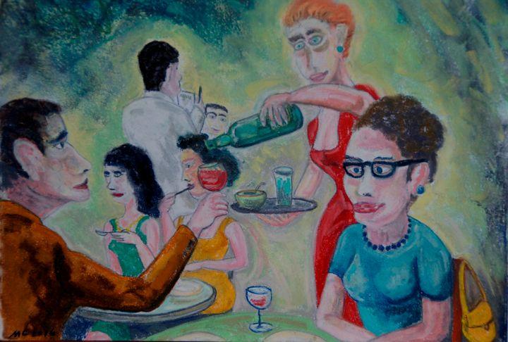 Café de la Contrescarpe - Mathieu Correa de Sa