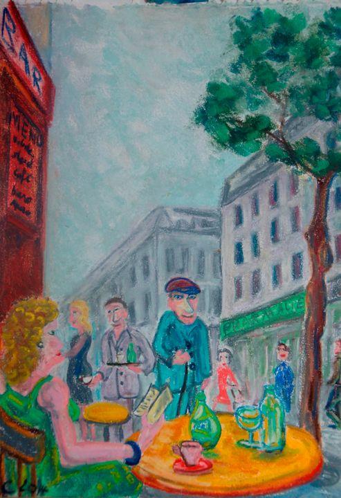 Rue de Belleville Paris - Mathieu Correa de Sa