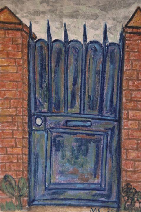 La porte bleue - Mathieu Correa de Sa