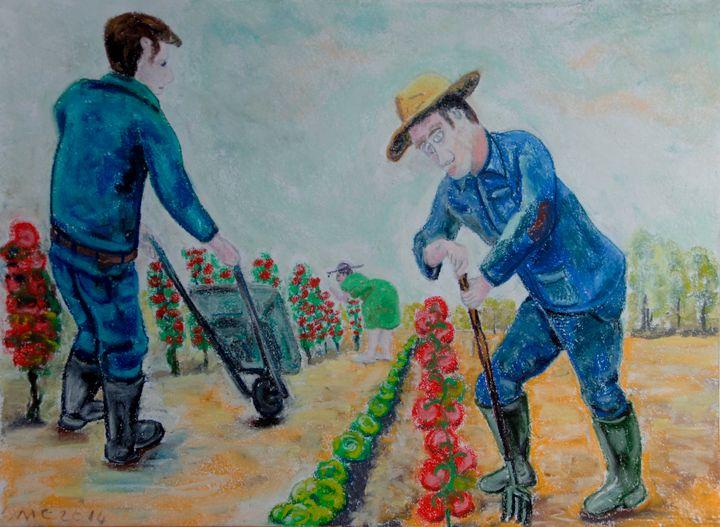 Les jardiniers - Mathieu Correa de Sa
