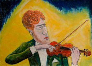Violoniste à l'Opéra de Paris