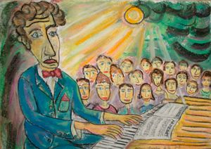 Pianist's dream rêve de pianiste