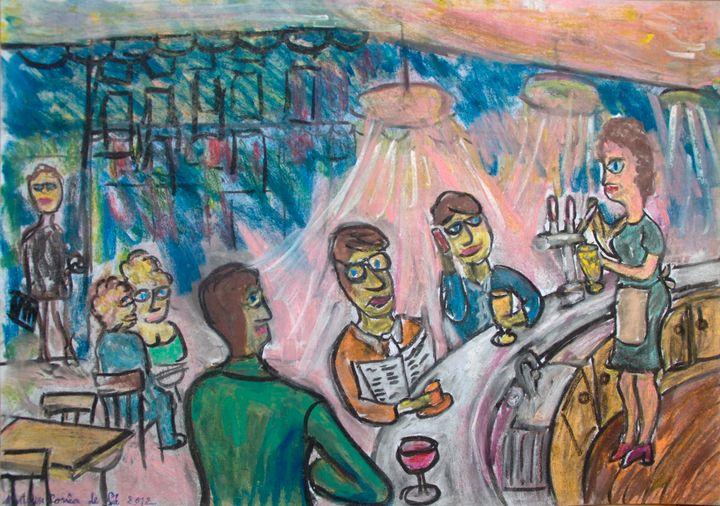 Café à Paris la conversation - Mathieu Correa de Sa