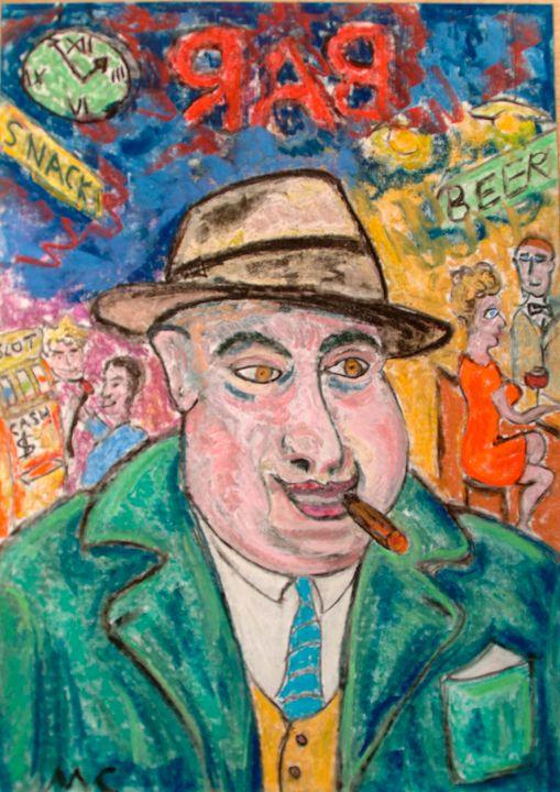 Smiling Gangster Al Capone - Mathieu Correa de Sa