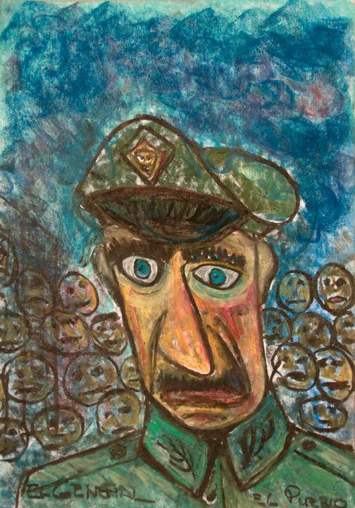 The general is alone - Mathieu Correa de Sa